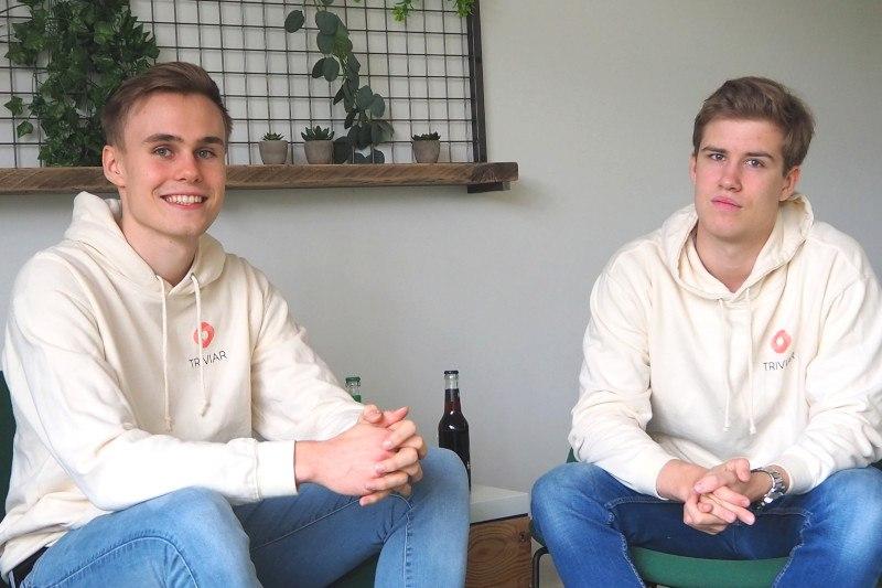 Nick und Jonah im GO!-Startup-Zentrum in Oldenburg